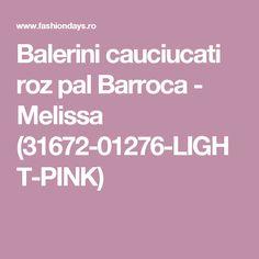 Balerini cauciucati roz pal Barroca - Melissa (31672-01276-LIGHT-PINK)