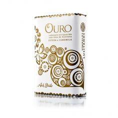 """""""Simbolos Lusitanos"""" Collection - Ouro - Rock Rose & Chamomile - 75g - Ach Brito"""