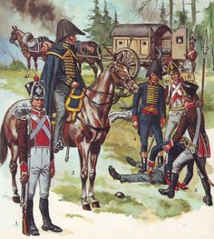 French ambulance and medics 1805 - 1812