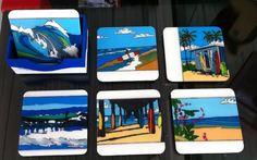 Posavasos de surf