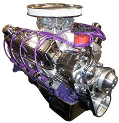 347 Ford Stroker Full Roller Crate Engine 450 HP