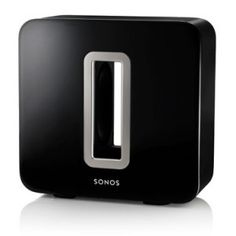 Sonos has today unveiled a new addition to their range in the form of the Sonos Sub Wireless Subwoofer. Sonos Wireless, Wireless Speaker System, Sonos Music System, Audio System, Sonos Play, Powered Subwoofer, Tear, Seong, Design