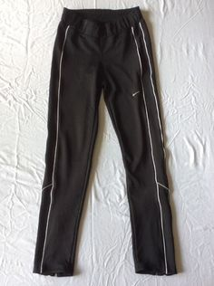 Nike Dri Fit Womens Athletic Sportswear Black Sweatpants Small   eBay 153d9bd8234e