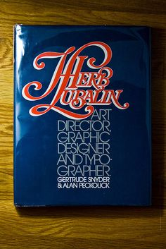 Herb Lubalin book