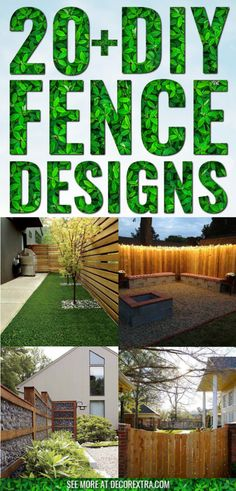 Creative DIY Privacy Fence Design Ideas for 2020 Diy Backyard Fence, Stone Backyard, Diy Privacy Fence, Privacy Fence Designs, Diy Fence, Backyard Playground, Backyard Landscaping, Back Yard Fence Ideas, Terraced Backyard