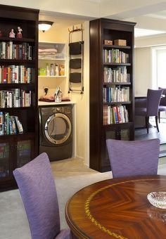 THIS IS BRILLIANCE! sliding book cases