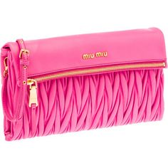 Miu Miu Clutch, this will probably never be mine!  I can dream..