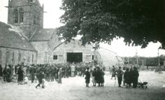 D-Day ceremonies in Sainte-Mère-Eglise  1945