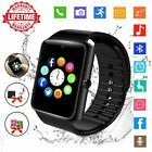 Smart Watch,Bluetooth Smartwatch Touch Screen Wrist Watch with Camera/SIM Card,Waterproof Phone Smart Watch Sports Fitness Tracker for Android iPhone IOS Huawei Sony for Kids Women Men Fitness Tracker, Sport Fitness, Smartwatch, Ios Phone, Android Phones, Text Messages, Camera Watch, Waterproof Phone