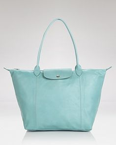 Longchamp Tote - Le Pliage Leather Large