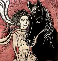 love the horses eye!