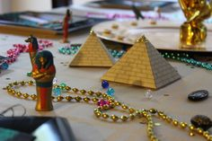 Egyptian Theme Birthday party