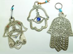 Carmel Gifts - Hamsa Amulets - Various, $13.00 (http://www.carmelgiftshop.com/products/hamsa-amulets-various.html)
