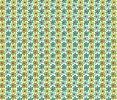 Tiny Flowers fabric by littlerhodydesign on Spoonflower - custom fabric