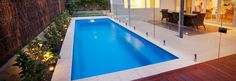 Fibreglass Pools Billabong Range