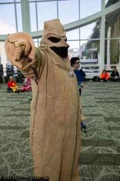 2014 Oogie Boogie Burlap Cosplay Photos - Halloween Nightmare Before Christmas Costume Hand Sewing
