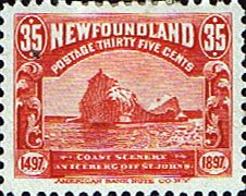 Newfoundland 1897 SG 78 Discovery Iceberg Fine Mint Scott 73 Other North American and British Commonwealth Stamps HERE!