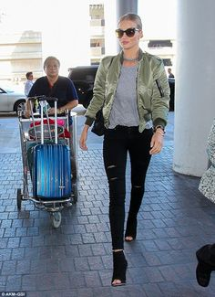 13 LOOKS DA ROSIE HUNTINGTON WHITELEY POR AÍ - Fashionismo