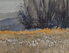 """UTAH LANDSCAPES IN WATERCOLOR:  """"Autumn Thistles"""" ... I've painted this location..."""