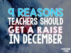 9 Reasons Teachers S