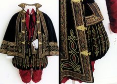 1590's Elizabethan Gentleman's Court Apparel, by Lynn McMasters