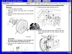 hyundai santa fe II 9 Thing 1, Wheels And Tires, The Struts, How To Remove, Santa Fe, Saints, Atelier