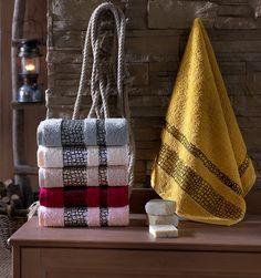 STONE COTTON 30*50 منشفة قطنية باشكال حجرية