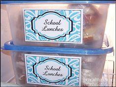 Delightful Order: Time Saving Tips for School Mornings