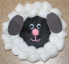 crafts easter crafts preschool crafts for spring paper plate lamb Preschool Projects, Craft Activities, Preschool Crafts, Easter Crafts, Kids Crafts, Kindergarten Crafts, March Crafts, Spring Crafts, Holiday Crafts For Kids