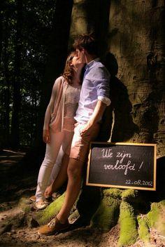 Onze verlovingskaart