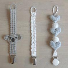 """445 synes godt om, 58 kommentarer – @mormorshaekleliv på Instagram: """"Flere suttekæder☺ #hækle #hæklet #hækling #crochet #crochetaddict #crocheting #virkning #amigurumi…"""""""