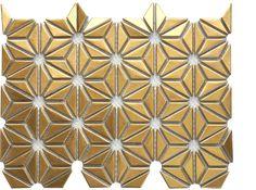 Glamorous Gold Tiles - Tile Lines Gold Kitchen, Kitchen Tiles, Bar Tile, Guest Bath, Glamour, Parlour, Flooring, Texture, Powder Room
