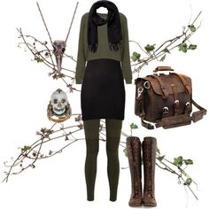 Exploring Dark Mori - everyday outfit idea for work now that I have a black pencil skirt Grunge Style, Soft Grunge, Look Rock, Mode Outfits, Fall Outfits, Fashion Outfits, Witchy Outfit, Dark Mori, Mori Fashion