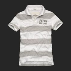 Cheap Abercrombie & Fitch Mens Polo Strip Short T Shirts AFT1096 http://abercrombie-sale.net/