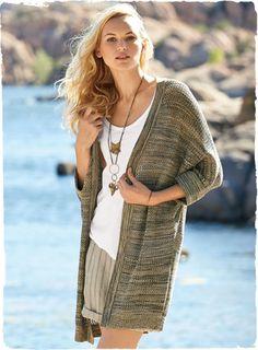 knitted kimono cardigan - Google Search