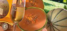 Melon et Pineau...l'association parfaite ! Miam ! | Charente-Maritime Tourisme  #charentemaritime | #melon | #pineau