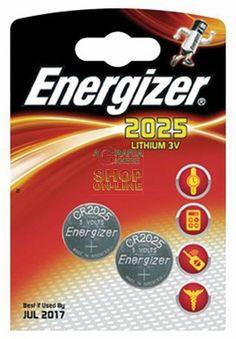 ENERGIZER PILE SPECIAL LITIO 3V 2 PZ. 2025 https://www.decariashop.it/it/batterie/4966-energizer-pile-special-litio-3v-2-pz-2025-7638900248333.html