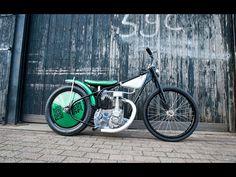 Flake Kings Weslake powered vintage Speedway-bike