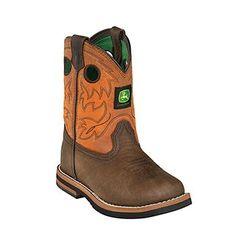 John Deere® Infant's Johnny Popper Western Boots