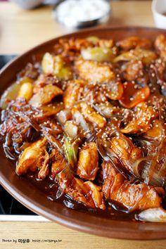 Steamed Chicken (찜닭)