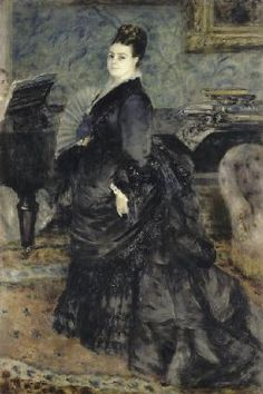 Pierre-Auguste Renoir - Portrait of a Woman, called of Mme Georges Hartmann
