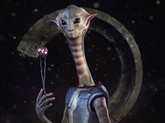 LightWave 3D Artist: Milivoj Popovic - Long Neck