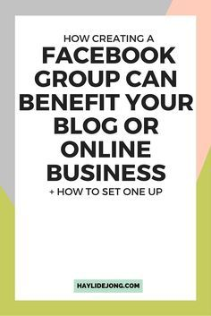 Building a community is something that most bloggers or online business owners are looking to do in order to expand their blog audience or find more potential customers. Find out how you can use facebook groups to benefit your blog or business and how you can set up your own.