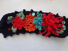 Little Treasures: New cuffs / crocheted bracelets