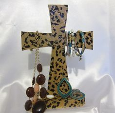 JEWELRY HOLDER!  Order Yours Today!  Cheetah Print!... ORDER TODAY