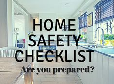 Home Safety Checklist! Is your house safe? Check out our top 10 tips to do at home. #AD