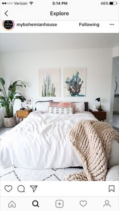 love the feel of this bedroom