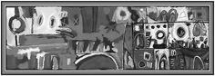 "Inspired By Jazz Musician John Coltrane – ""Dial Africa"" - #jazz #JohnColtrane #blackandwhitepaintingsabstract #blackandwhitepaintingsart #blackandwhitepaintingsacrylic #blackandwhitepaintingspaper"
