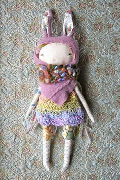 handmade doll - @humblehome