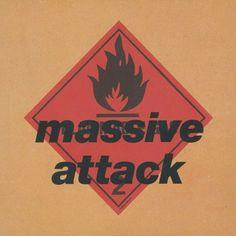 Vinyl Massive Attack - Blue Lines, Virgin, Reissue Iconic Album Covers, Cool Album Covers, Music Album Covers, Classic Album Covers, The Velvet Underground, Trip Hop, Frank Ocean, Cd Album, Album Songs